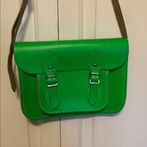 The Cambridge Satchel Company Neon Green Bag
